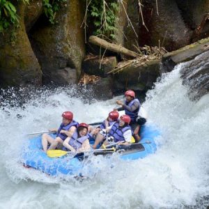White Water Rafting, Bali Swing And Tegalalang Rice Terrace